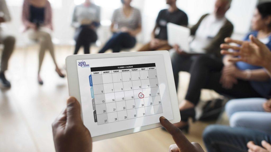 Styrearbeid planlegges ved bruk av Agio Forvaltning sitt styringsverktøy Styrets årshjul
