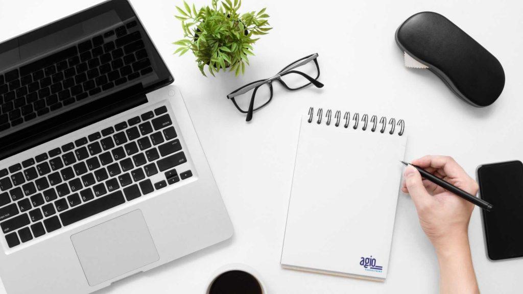 Styremedlem planlegger hverdagen ved bruk av Agio Forvaltning sitt styringsverktøy Styrets årshjul
