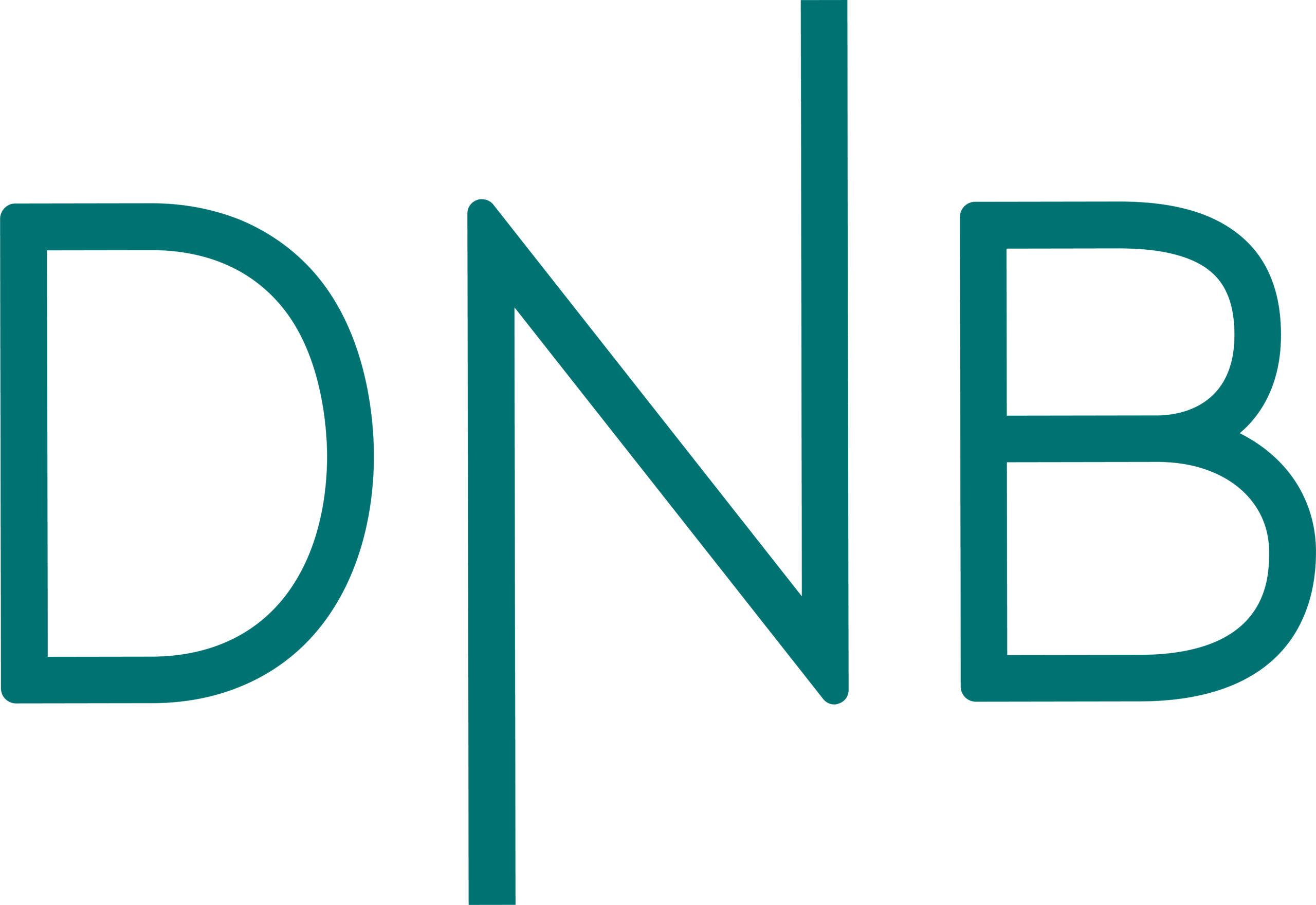 DnB sin logo i sjøgrønn
